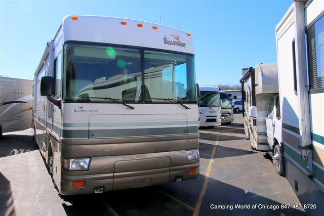 Used 2002 Fleetwood Bounder Diesel 39Z Class A - Diesel For Sale