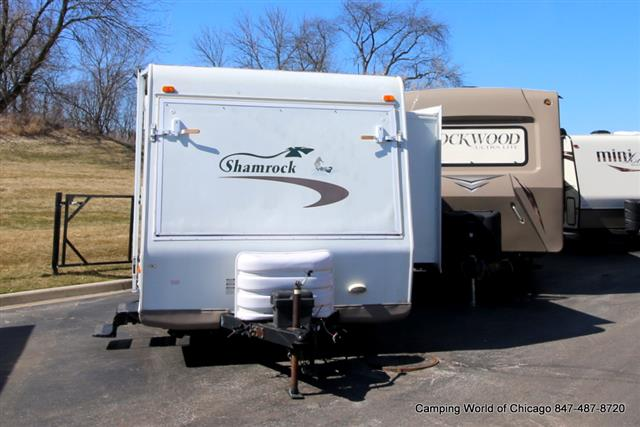 Used 2007 Flagstaff Shamrock 23SS Hybrid Travel Trailer For Sale