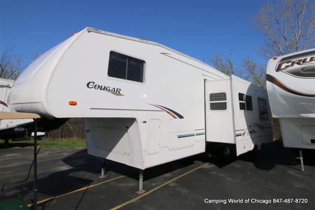 Used 2001 Keystone Cougar 281 Fifth Wheel For Sale