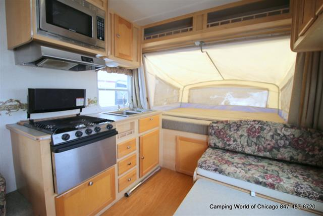 Used 2005 R-Vision Trail-lite 233 Hybrid Travel Trailer For Sale