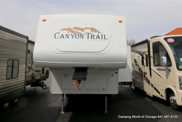Used 2006 Gulfstream Canyon Trail 28FRBH Fifth Wheel For Sale