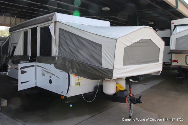 Used 2012 Forest River Rockwood Premier 2514G Pop Up For Sale