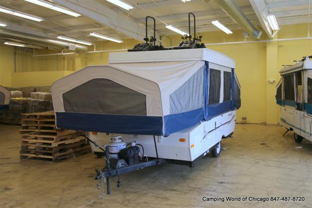 Used 2009 Forest River Flagstaff M-206ST Pop Up For Sale