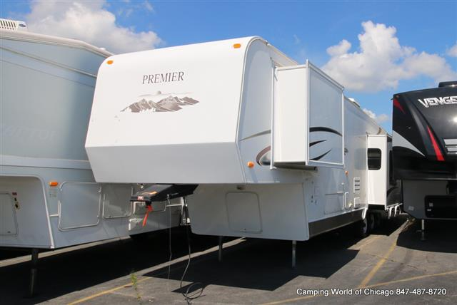 Used 2012 Hy-line Premier 38FE1PA Fifth Wheel For Sale