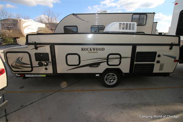 Used 2014 Forest River Rockwood Premier 2516 Pop Up For Sale