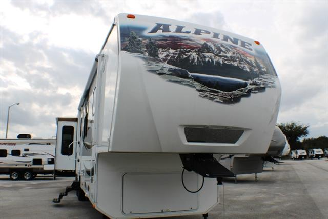 2012 Fifth Wheel Keystone Alpine