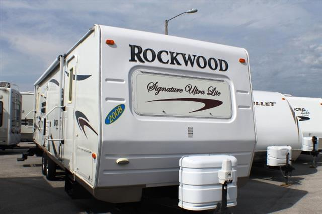 Used 2008 Forest River Rockwood 8314SS Travel Trailer For Sale