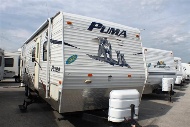 Used 2009 Palomino Puma 30FQSS Travel Trailer For Sale