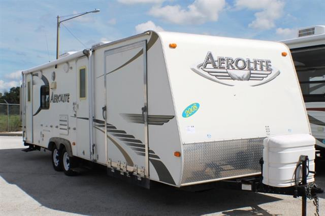 Used 2008 Dutchmen Aerolite 27QSTHSL Travel Trailer Toyhauler For Sale