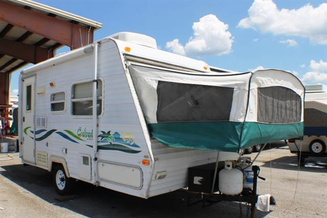 Used 1999 Keystone Keystone 17 Hybrid Travel Trailer For Sale