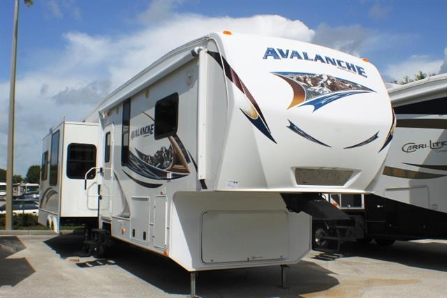 Used 2012 Keystone Avalanche 343RS Fifth Wheel For Sale