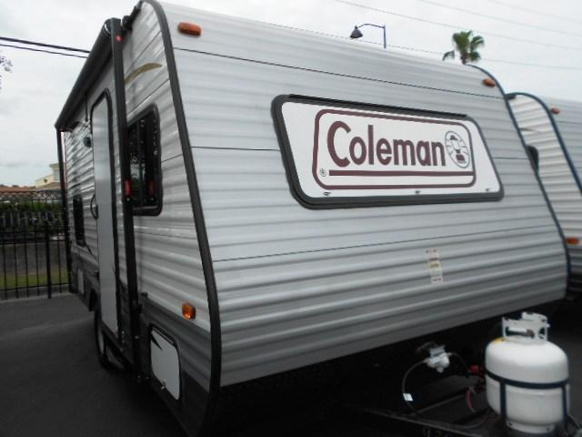 Used 2015 Coleman Coleman 15BH Travel Trailer For Sale