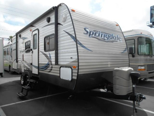 Used 2014 Keystone Springdale 225RBGL Travel Trailer For Sale