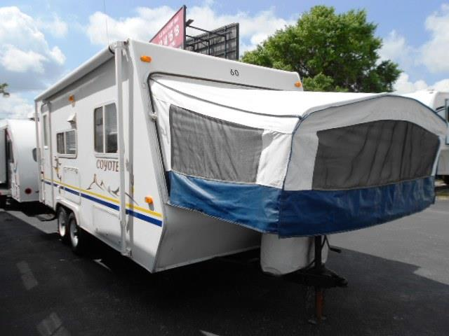 Used 2003 K-Z Sportsmen COYOTE 20C Travel Trailer For Sale
