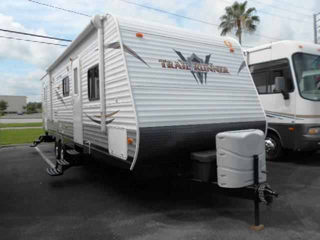 Used 2013 Heartland Trail Runner 29FQBS Travel Trailer For Sale