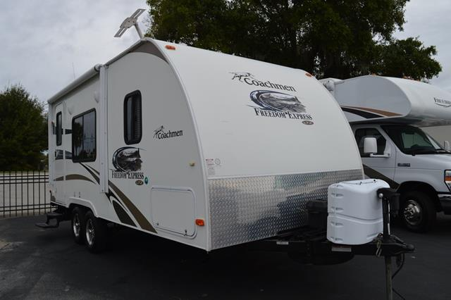 Used 2013 Coachmen Freedom Express 191RB Travel Trailer For Sale