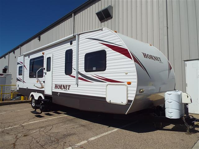 Used 2010 Keystone Hornet 30RKDS Travel Trailer For Sale