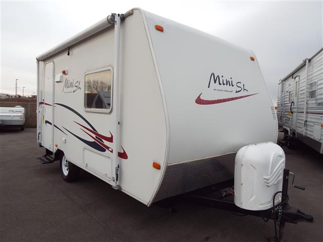 Used 2006 Gulfstream Mini 18DBG Hybrid Travel Trailer For Sale