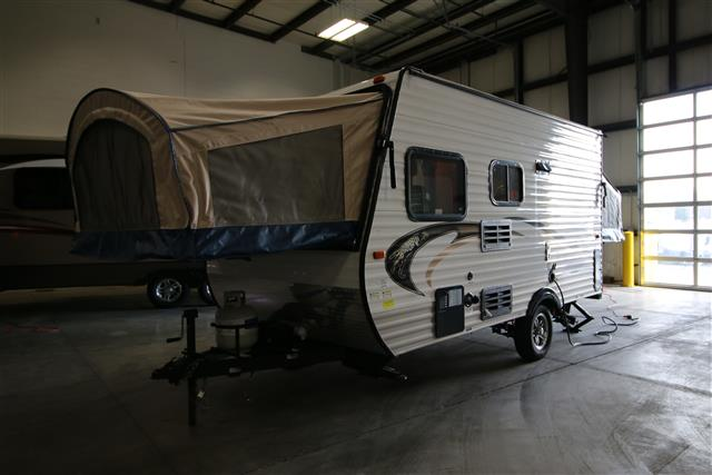 Used 2014 Forest River Coachmen CLIPPER Hybrid Travel Trailer For Sale