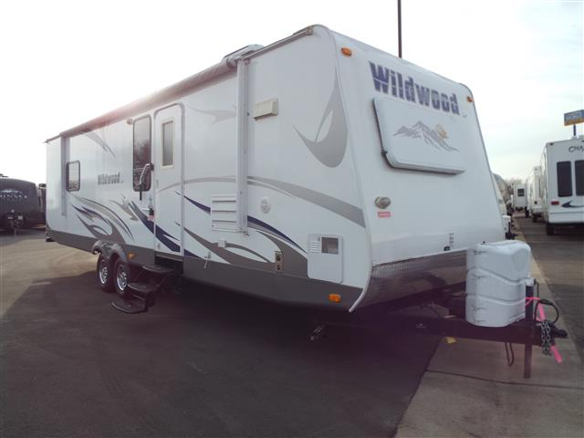 Used 2009 Forest River Wildwood La 292FKDS Travel Trailer For Sale