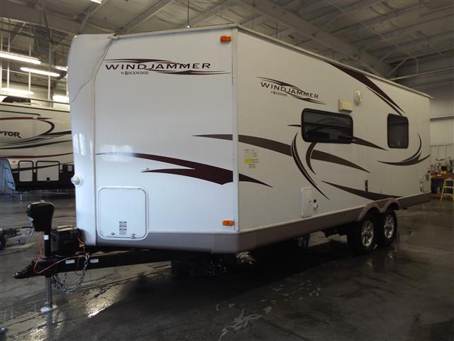Used 2010 Forest River Rockwood 2102W Travel Trailer For Sale