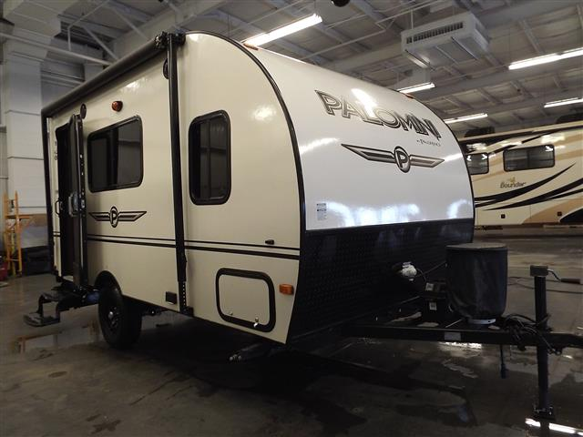 Used 2015 Forest River PALOMINI 142CK Travel Trailer For Sale