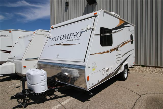 Used 2012 Forest River Stampede 17 Hybrid Travel Trailer For Sale