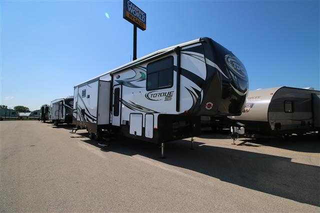 New 2016 Heartland TORQUE 325 Fifth Wheel Toyhauler For Sale