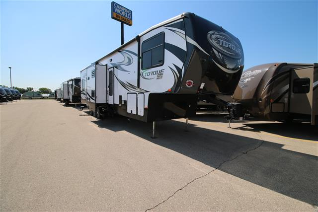 New 2016 Heartland TORQUE 396 Fifth Wheel Toyhauler For Sale