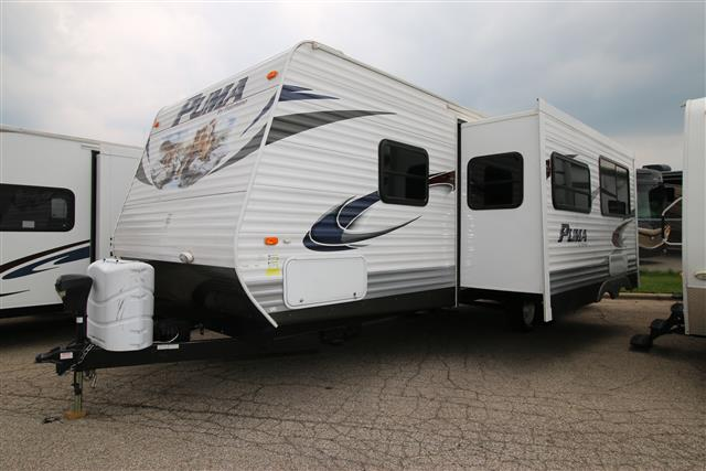 Used 2013 Palomino Puma 27RBSS Travel Trailer For Sale