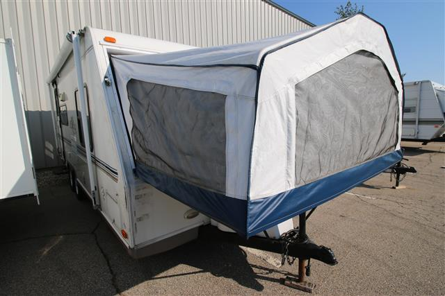 Used 2003 Rockwood Rv Roo 232 Hybrid Travel Trailer For Sale