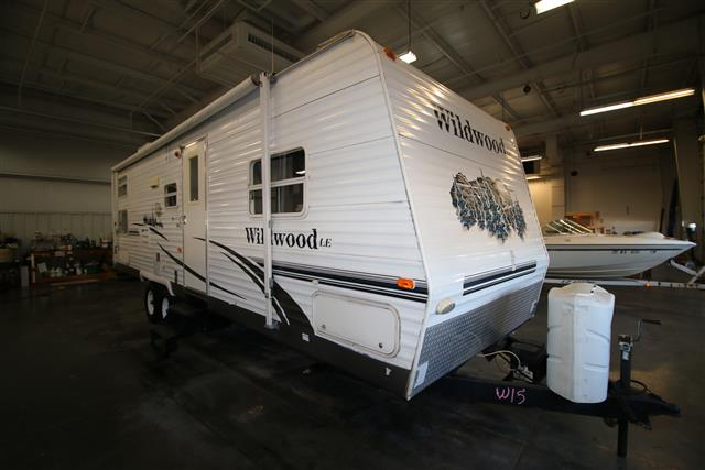 Used 2006 Forest River Wildwood 291BHBS Travel Trailer For Sale