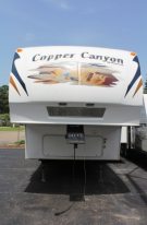 Used 2008 Keystone Copper Canyon 252 FWRLS Fifth Wheel For Sale