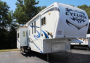 Used 2010 Heartland Cyclone 3850 Fifth Wheel Toyhauler For Sale