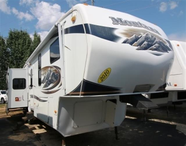 Used 2010 Keystone Montana 3615RE Fifth Wheel For Sale
