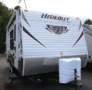 Used 2012 Keystone Hideout 19FLB Travel Trailer For Sale