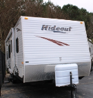 Used 2008 Keystone Hideout 27FB Travel Trailer For Sale