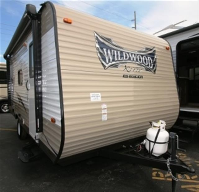 New 2015 Forest River Wildwood 174BHXL Travel Trailer For Sale