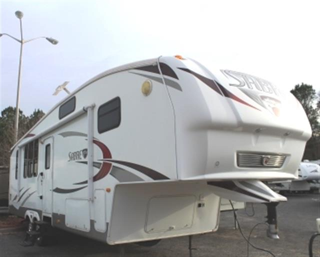 Used 2010 Palomino Sabre 34RK Fifth Wheel For Sale