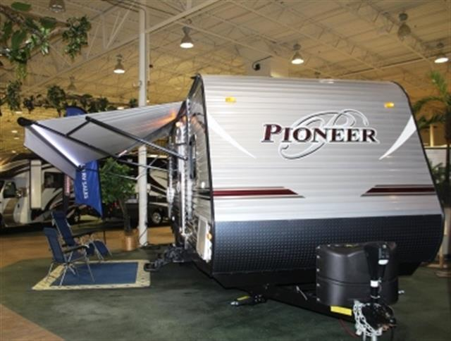 Used 2015 Heartland Pioneer 25BH Travel Trailer For Sale