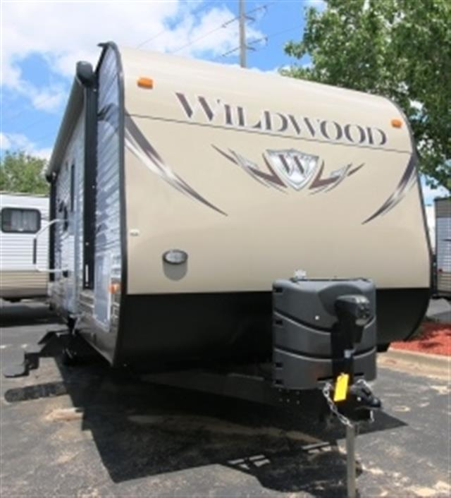 Used 2015 Forest River Wildwood 28DBUD Travel Trailer For Sale
