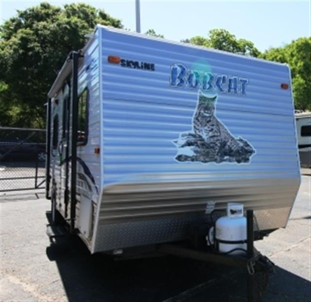 Used 2012 Skyline Bob Cat 183C Travel Trailer For Sale