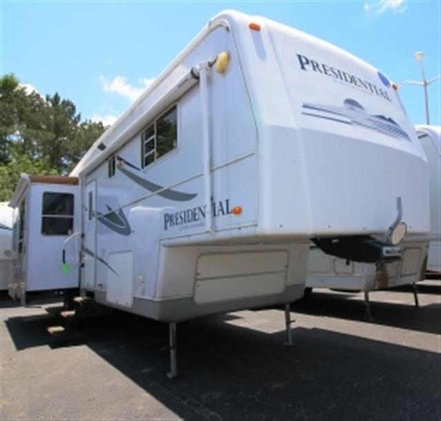 Used 2005 Holiday Rambler Presidential 36RLT Fifth Wheel For Sale