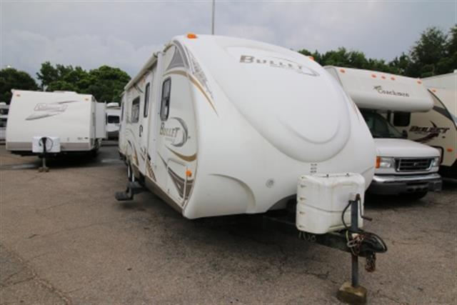 Used 2009 Keystone Bullet 282BHS Travel Trailer For Sale