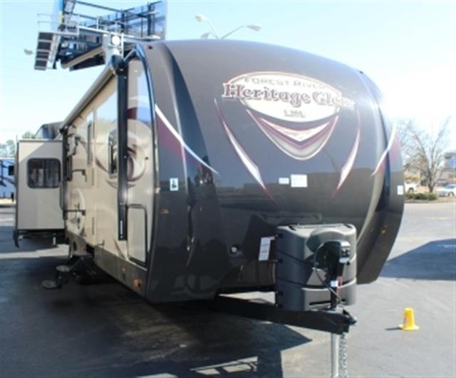 Used 2015 Forest River HERITAGE GLEN 299RE Travel Trailer For Sale
