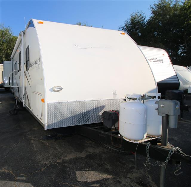 Used 2009 Keystone Passport 30BHT Travel Trailer For Sale