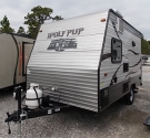 Used 2014 Forest River Wolf Pack 14RB Travel Trailer For Sale