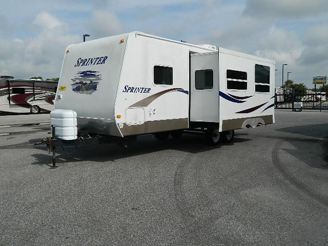 Used 2007 Keystone Sprinter 25RBS Travel Trailer For Sale