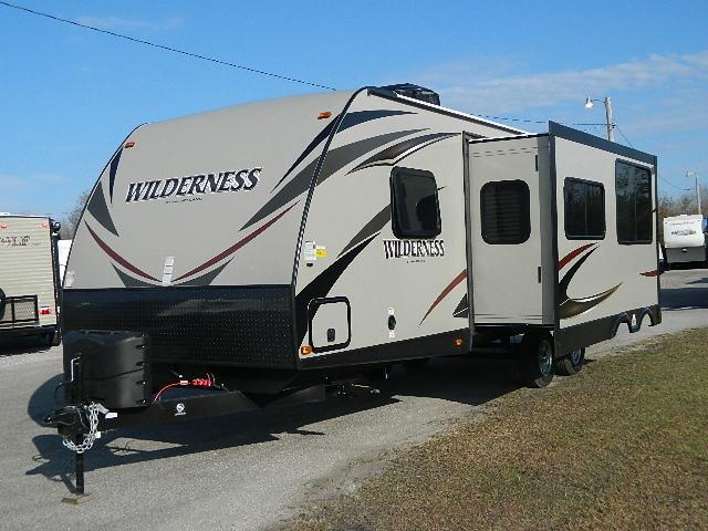 New 2015 Heartland Wilderness 2375BH Travel Trailer For Sale