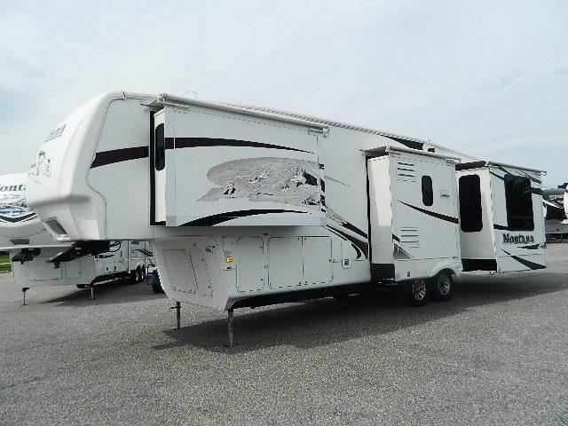 Used 2008 Keystone Montana 3665RE Fifth Wheel For Sale